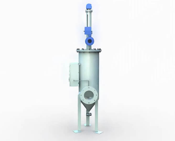 Auto Backflush Type Self Cleaning Filter Housing