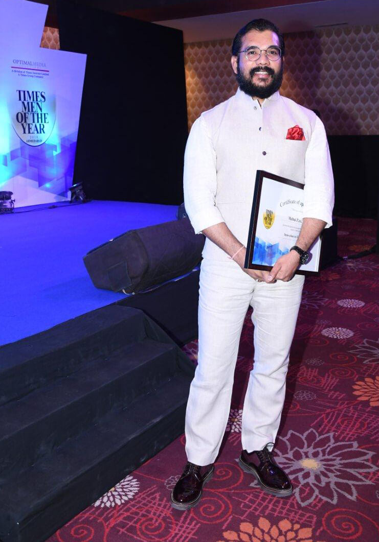 """CEO, Mr. Mehul Panchal is now """"Times Man of the year 2018"""""""