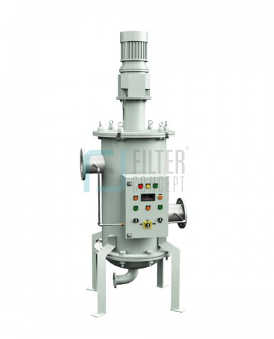 Scrapper Mechanism Type Self Cleaning Filter Housing