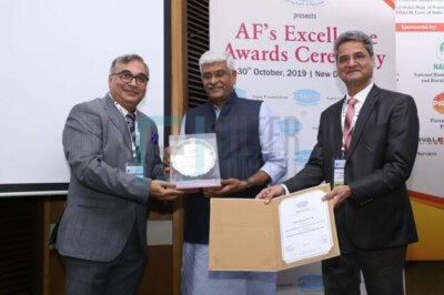 Aqua Foundation's Excellence Award 2019