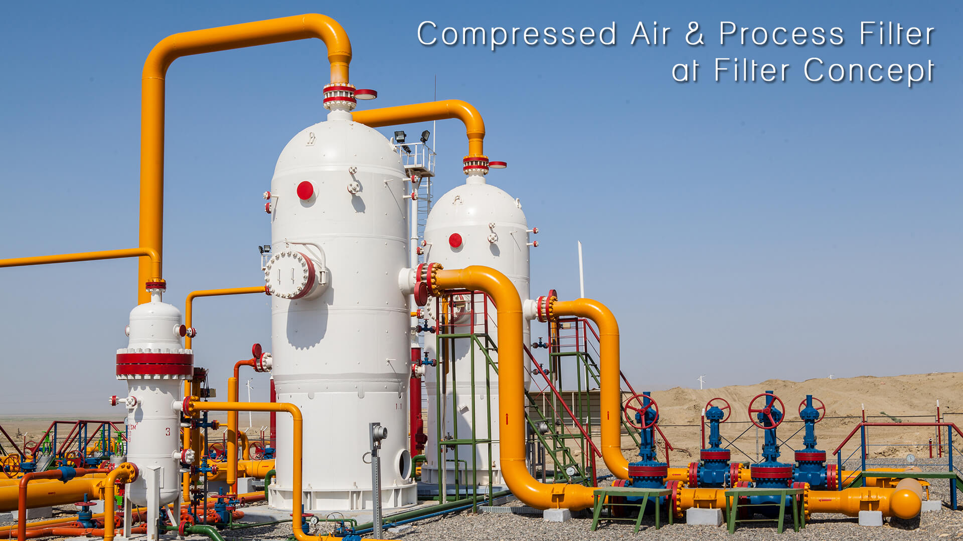 Compressed Air & Process Filter at Filter Concept